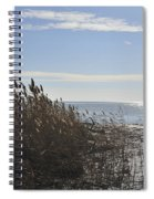 Bay Breeze In Winter Spiral Notebook