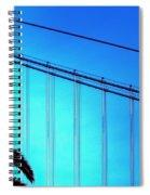 Bay Bridge 19702 Spiral Notebook