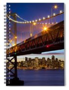 Bay Bridge Spiral Notebook