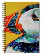 Bay Bulls Puffin Spiral Notebook