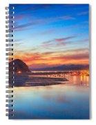 Bay Lights Spiral Notebook