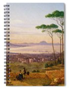 Bay Of Naples Spiral Notebook