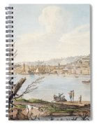 Bay Of Naples From Sea Shore Spiral Notebook