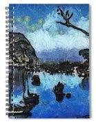 Bay View Morro Bay California Spiral Notebook