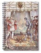 Bayard Presented To Henry Viii Spiral Notebook