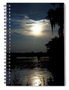 Bayou Blues Spiral Notebook