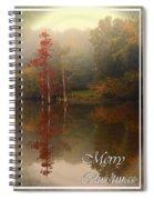 Bayou Christmas Spiral Notebook