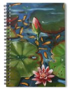 Lily Pond II Spiral Notebook