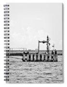 Bayou Energy - Bw Spiral Notebook