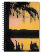 Bayou Sunset Spiral Notebook