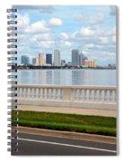 Bayshore Boulevard Spiral Notebook