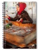Bazaar - I Sell Fish  Spiral Notebook