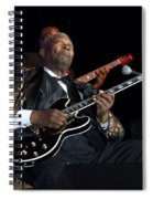 B.b. King Spiral Notebook