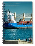 Bbc Elbe On St Clair River Spiral Notebook