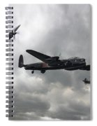Bbmf Lancaster Spitfire Hurricane Spiral Notebook