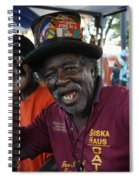 Bbq Greetings Spiral Notebook