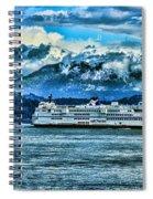 B.c. Ferries Hdr Spiral Notebook