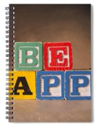Be Happy - Jabberblocks Spiral Notebook
