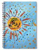 Be Like The Sun Spiral Notebook