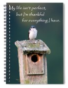 Be Thankful Spiral Notebook
