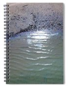 Beach Abstract Spiral Notebook