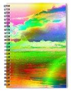 Beach Abstract Spiral Notebook