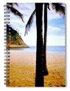 Beach At Ipanema - 2 Spiral Notebook