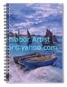Beach At Saint Address Spiral Notebook