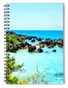Beach At St. George Bermuda Spiral Notebook