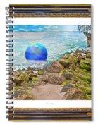 Beach Ball Dreamland Spiral Notebook