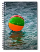 Beach Ball Float Spiral Notebook