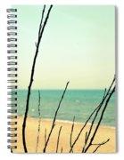 Beach Branches Spiral Notebook