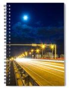 Beach Causeway Spiral Notebook