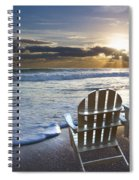 Beach Chairs Spiral Notebook