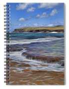 Beach Colors Spiral Notebook