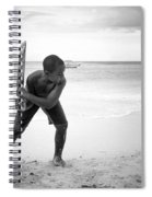 Beach Cricket Spiral Notebook