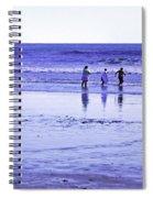 Beach Day Afternoon Spiral Notebook