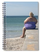 Beach Dreamer Spiral Notebook
