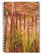 Beach Dune Fence At Cape May Nj Spiral Notebook