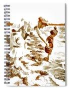 Beach Family  Spiral Notebook