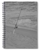 Beach Fishing Spiral Notebook