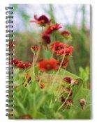 Beach Flowers Spiral Notebook