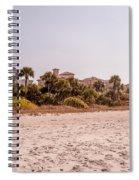 Beach Homes Spiral Notebook