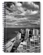 Beach Hotels San Juan Puerto Rico Spiral Notebook
