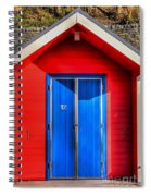 Beach Hut 12 Spiral Notebook