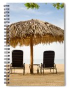 Beach Hut For Two Spiral Notebook