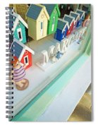 Beach Huts For Sale Spiral Notebook