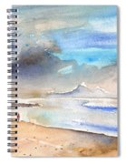 Beach In Lanzarote Spiral Notebook