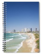 Beach In Tel Aviv Israel Spiral Notebook