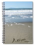 Beach Love Spiral Notebook